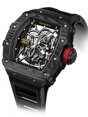 Richard Mille - RMO35 Carbon Rafael Nadal Skeleton Dial