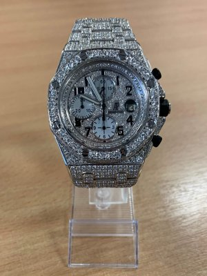 Audemars Piguet - Royal Oak Offshore Chronograph Fully Iced