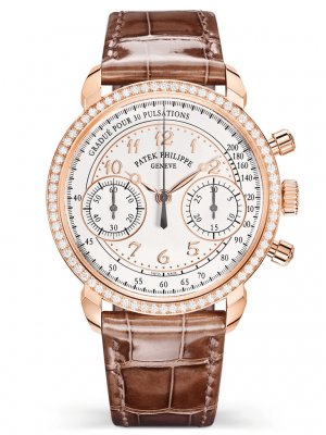 Patek Phillippe - Complications Rose Gold Diamond Set Bezel